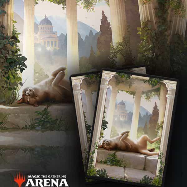 Secret Lair Dogs Sleeves MTG Arena