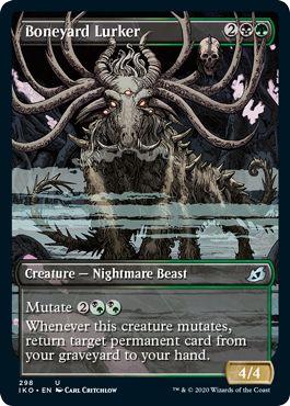 Set Booster Showcase Cards Boneyard Lurker