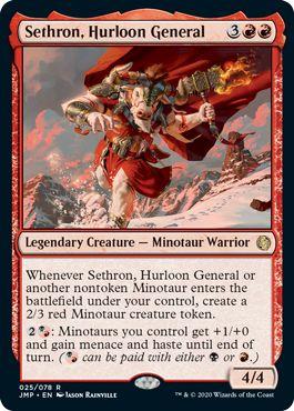 Sethron, Hurloon General Best Commander Cards Jumpstart