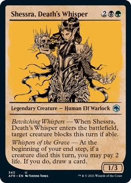 Shessra, Death's Whisper Alt Art