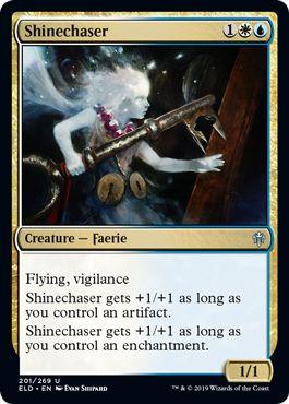 Shinechaser MTGA draft Throne of Eldraine