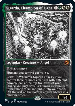 Sigarda, Champion of Light Eternal Night Style