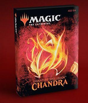 Signature Spellbook Chandra Spoilers Contents