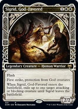Sigrid, God-Favored Kaldheim Showcase Styles