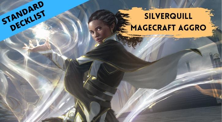 Silverquill Magecraft Aggro Standard Decklist Banner