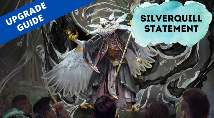 Silverquill Statement Upgrade Banner