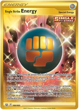 Single Strixe Energy Secret Rare
