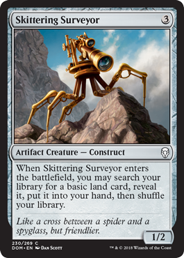 Skittering Surveyor Dominaria Draft Guide