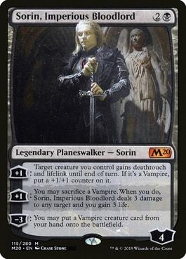 Sorin Imperious Bloodlord Vampire Planeswalker