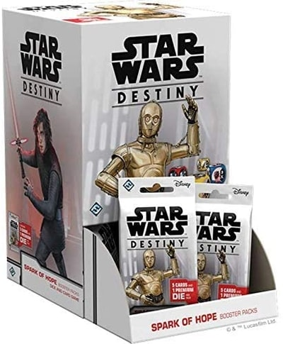 Spark of Hope Best Star Wars Destiny Booster Box