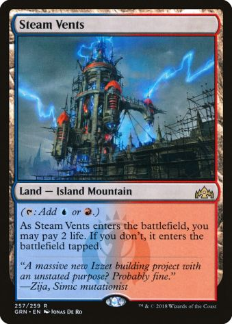 Steam Vents Dual Lands Cube Draft Arena