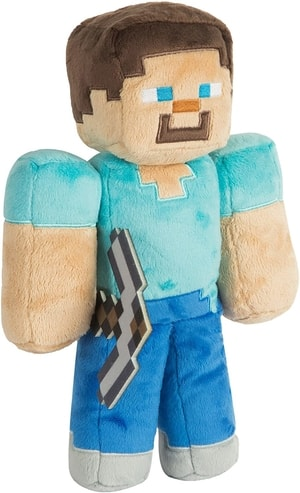 Steve Plushie Best Minecraft Gifts Gift Guide for Minecraft Fans