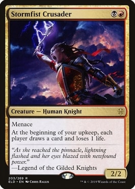 Stormfist Crusader Best MTG Knights
