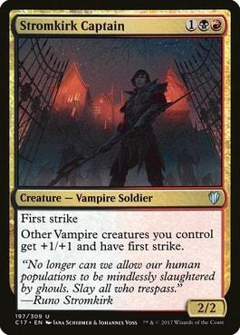 Stormkirk Captain Vampire Lord MTG