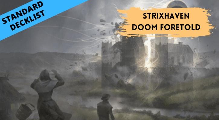 Strixhaven Doom Foretold Standard Decklist Banner
