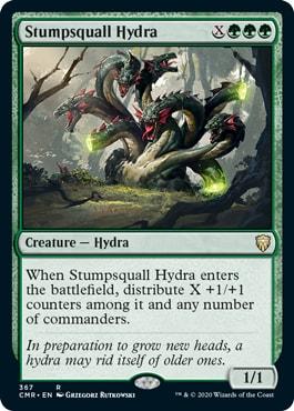 Stumpsquall Hydra New Cards Commander Legends Decks