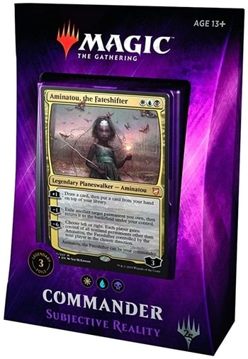 All Commander Precons List Subjective Reality