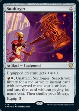 Sunforger Commander Legends Arm for Battle Upgrade Guide