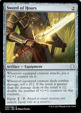 Sword of Hours Aura of Courage Decklist