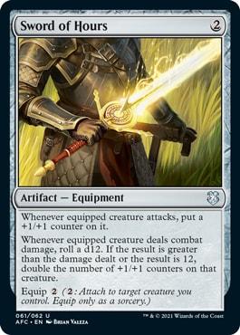 Sword of Hours DND Commander Decks
