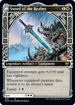 Sword of the Realms Kaldheim Showcase Cards