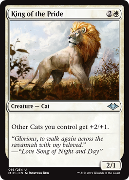 TOP 10 MTG Cats King of the Pride