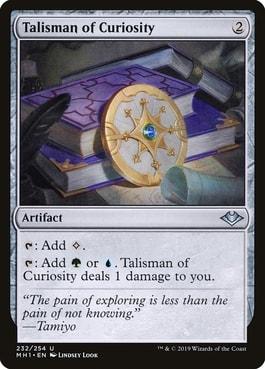 Talisman of Curiosity