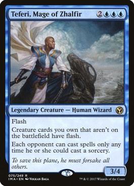Teferi, Mage of Zhalfir Best MTG Wizards
