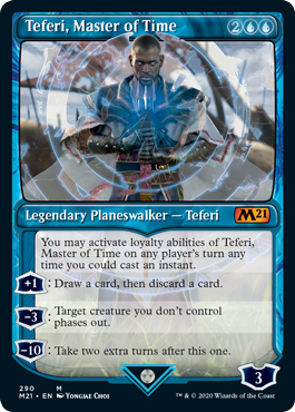 Teferi Master of Time Showcase - Version 1