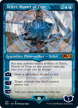 Teferi Master of Time Showcase - Version 2