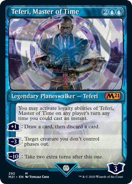 Teferi Master of Time Showcase - Version 3