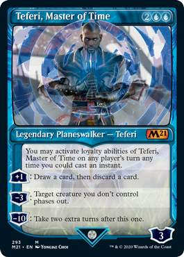 Teferi Master of Time Showcase - Version 4
