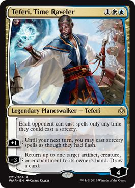 Teferi-Time-Raveler Companion Changes