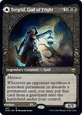 Tergrid, God of Fright All Kaldheim Showcase Styles