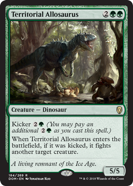 Territorial Allosaurus Kicker