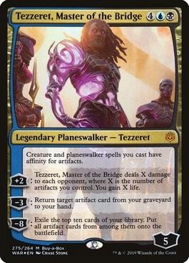 Tezzeret, Master of the Bridge Undead Unleashed Precon Upgrade
