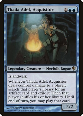 Thada Adel Party mechanic in Commander EDH