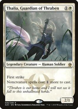 Thalia, Guardian of Thraben Best Tribal Human Cards MTG