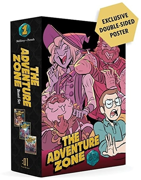 The Adventure Zone Boxed Set Graphic Novel