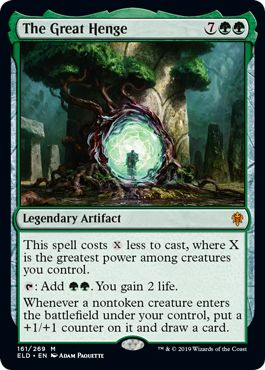 The Great Henge  How to Make Mono Green Stompy Challenger Deck 2021 Better