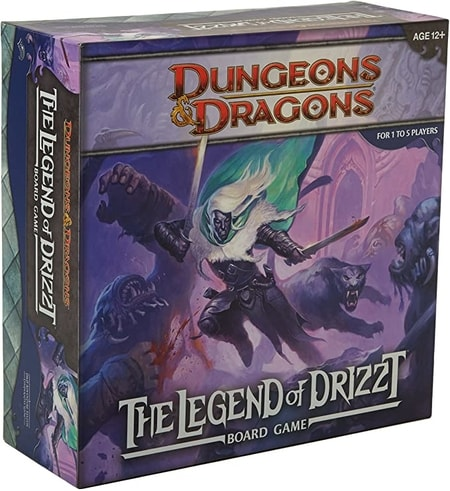The Legend of Drizzt Board Game