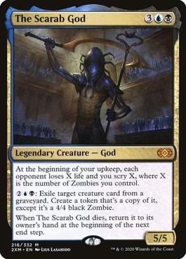 The Scarab God Best MTG Gods for Commander