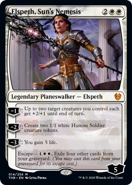Theros Beyond Death Best Spoilers Elspeth Sun's Nemesis