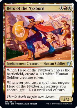 Theros Draft RW Aggro Hero of the Nyxborn