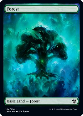 Theros Full Art Land Forest