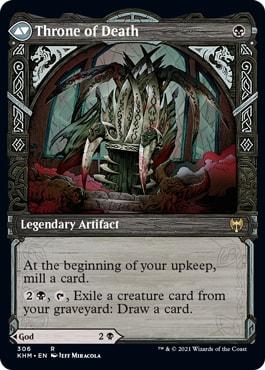 Throne of Death MTG Viking Styles