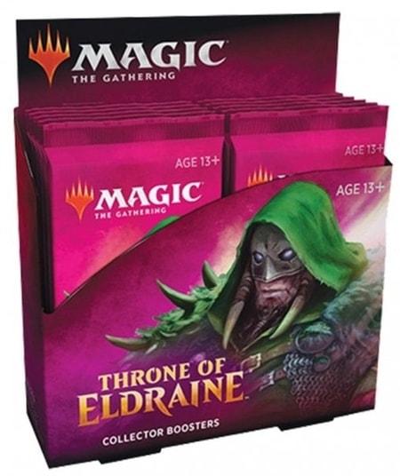 Throne of Eldraine First MTG Collector Booster Box