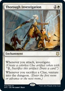 Through Investigation Forgotten Realms Commander Decklists