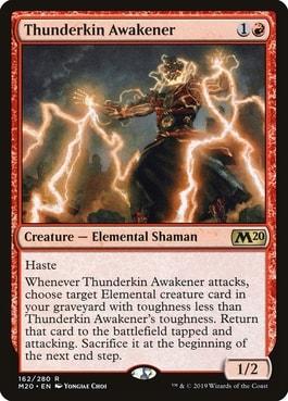 Thunderkin Awakener Best MTG Elementals