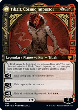 Tibalt, Cosmic Impostor Showcase Variation